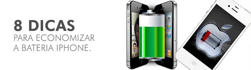 8 Dicas Para Economizar a Bateria iPhone